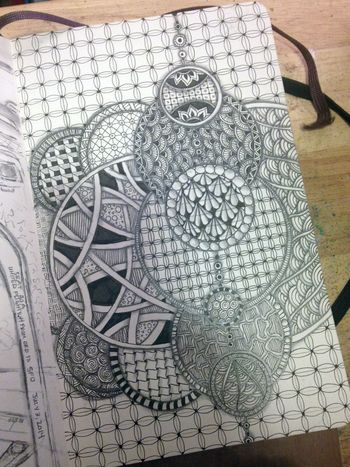 Zentangle Circles 5 - Gwen Lafleur