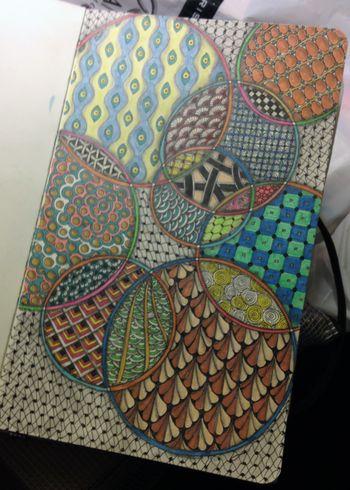 Zentangle Circles 4 - Gwen Lafleur