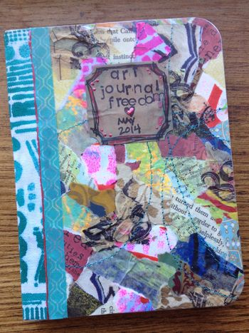 Mini Art Journal Cover - Gwen Lafleur