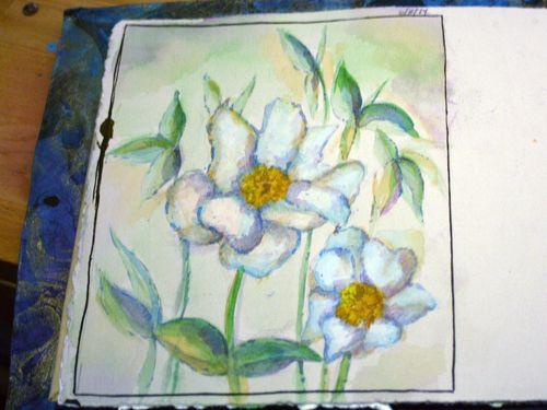Artist and Sketchbook - Sketchbook page 3 - Gwen Lafleur