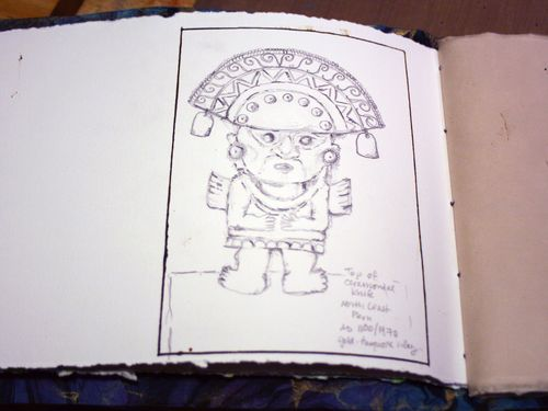 Artist and Sketchbook - Sketchbook page 4 - Gwen Lafleur