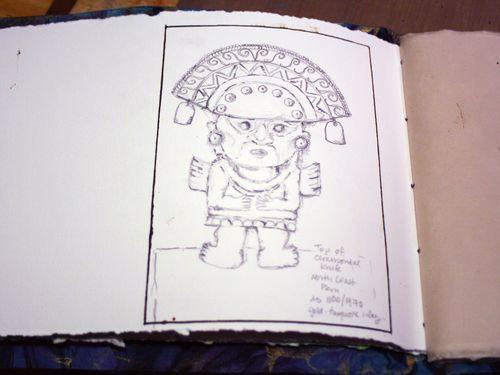 Artist and Sketchbook - Sketchbook page 4 - Gwen Lafleur