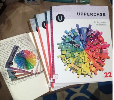 Uppercase Magazines and Sketches - Gwen Lafleur