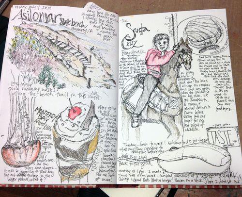 Sketchbook - pp2-3