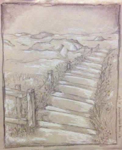 Sketchbook - Asilomar Beach