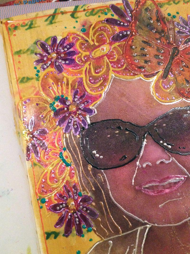StencilGirl-Leslie Riley TAP Hop Project Closeup 2 - Gwen Lafleur