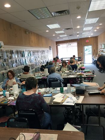 Bookbinding Class at Papercraft Clubhouse