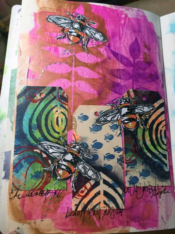 Creature Feature P2 with Dina Wakley - Gwen Lafleur