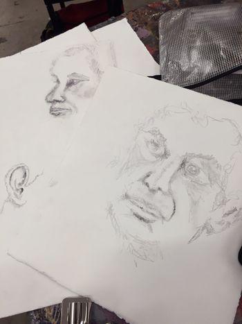 Portrait Drawing 3 - Gwen Lafleur