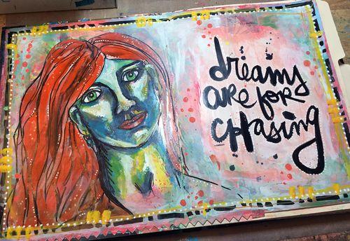 Junque Journal Spread 4 - Gwen Lafleur