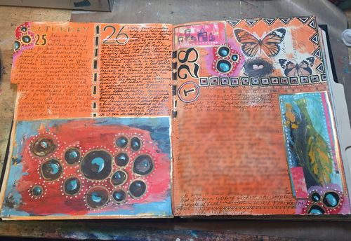 Junque Journal Spread 6 - Gwen Lafleur