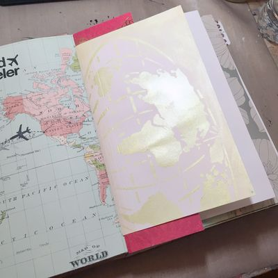 StencilGirl-USArtQuest Travel Journal 9 - Gwen Lafleur