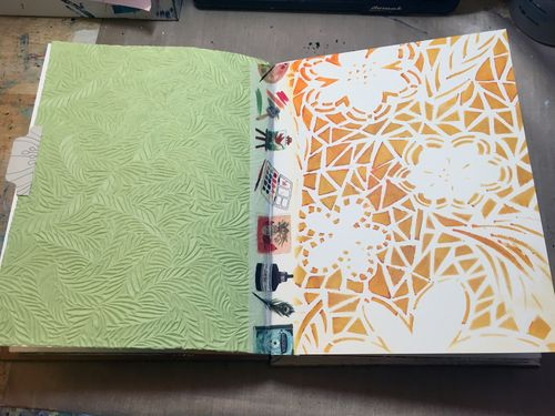 StencilGirl-USArtQuest Travel Journal 10 - Gwen Lafleur