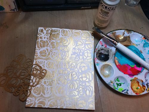 Dec2015 StencilClub - Number Embellishments 1 - Gwen Lafleur