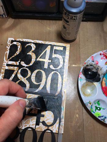 Dec2015 StencilClub - Number Embellishments 2 - Gwen Lafleur