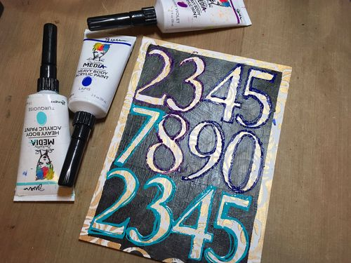 Dec2015 StencilClub - Number Embellishments 3 - Gwen Lafleur