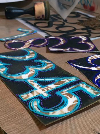 Dec2015 StencilClub - Number Embellishments 4 - Gwen Lafleur