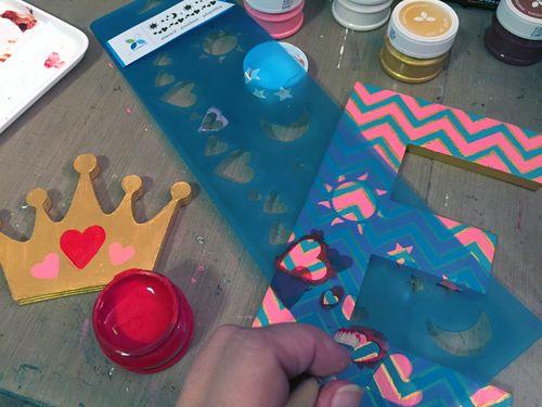 Momenta Stencils - Home Decor Girl's Initial - Step 5 - Gwen Lafleur