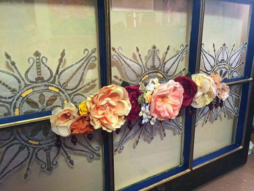 Upcycled Mixed Media Window - Final Closeup 2 - Gwen Lafleur