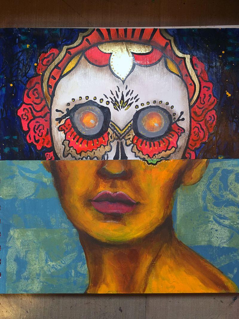 Mix and Match Faces - Art Journaling Mix 10 - Gwen Lafleur