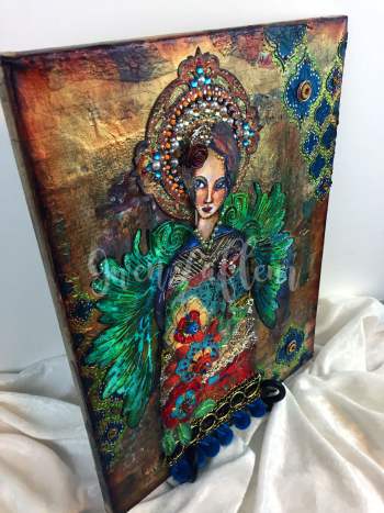 Mixed-Media-Angel-Side-View-2---Gwen-Lafleur