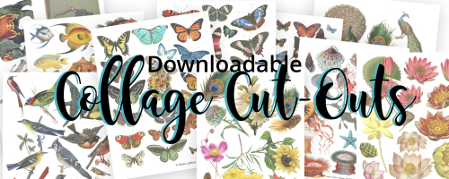 Collage Cut-Outs Category Header