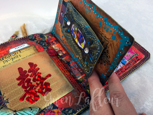 March ARTifacts Art Journal - Page 5c - Gwen Lafleur