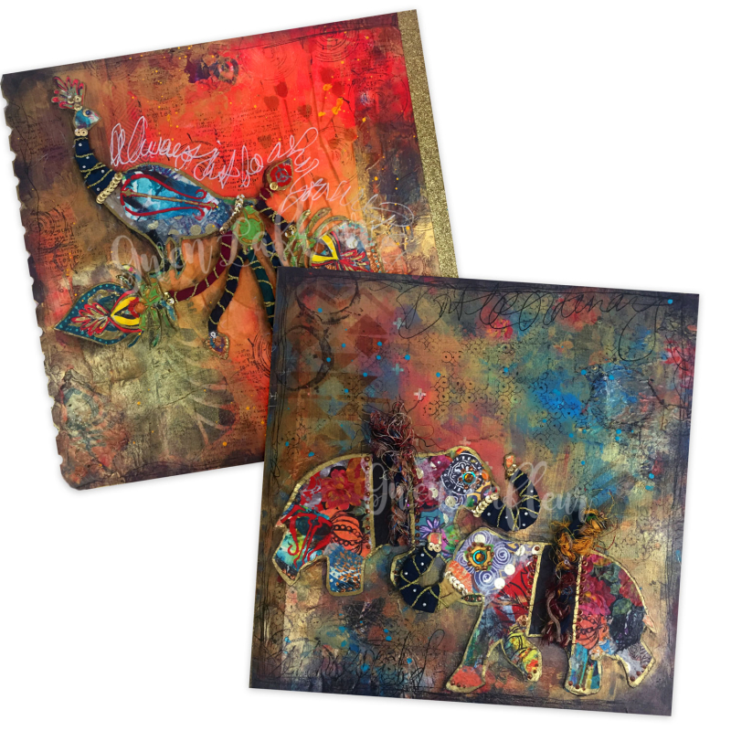 Boho-Art-Journaling---Class-Preview---Gwen-Lafleur