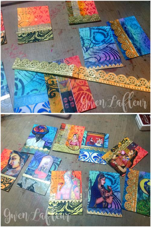 Stenciled-and-Embellished-ATCs---Steps-5-6---Gwen-Lafleur