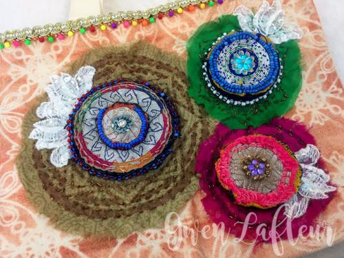 Kantha-Quilted-Handbag-with-Stencils---Closeup-1---Gwen-Lafleur