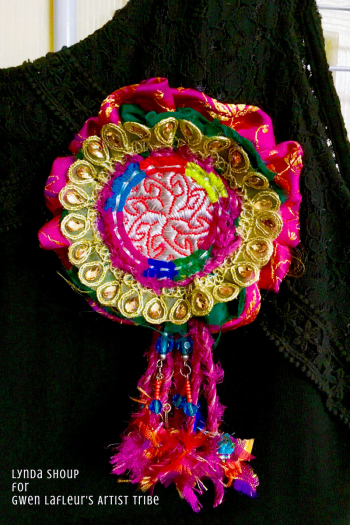 Textile-Brooch-with-Kuchi-Patch---Lynda-Shoup
