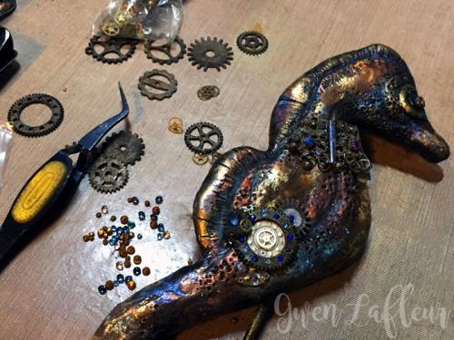 Mixed-Media-Seashorse-Sculpture-Step-5
