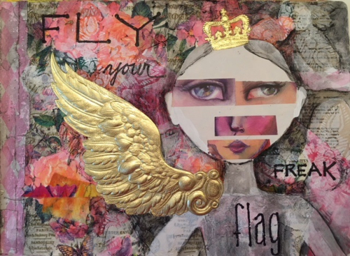 Art Journaling with Dresden - Linda Edkins Wyatt