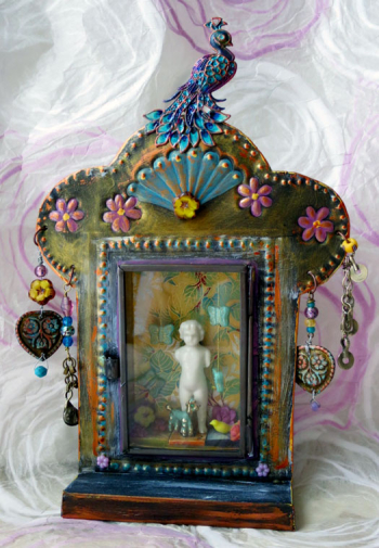 Mixed-Media-Embellished-Shrine---Jackie-Neal