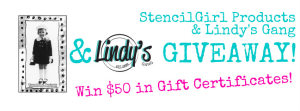 Lindy's Gang Blog Hop Giveaway