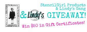 Lindy's Gang Blog Hop Giveaway