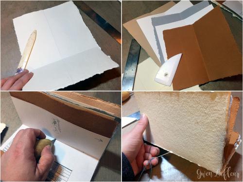 Pamphlet-Bound-Art-Journal-Step-1-4---Gwen-Lafleur