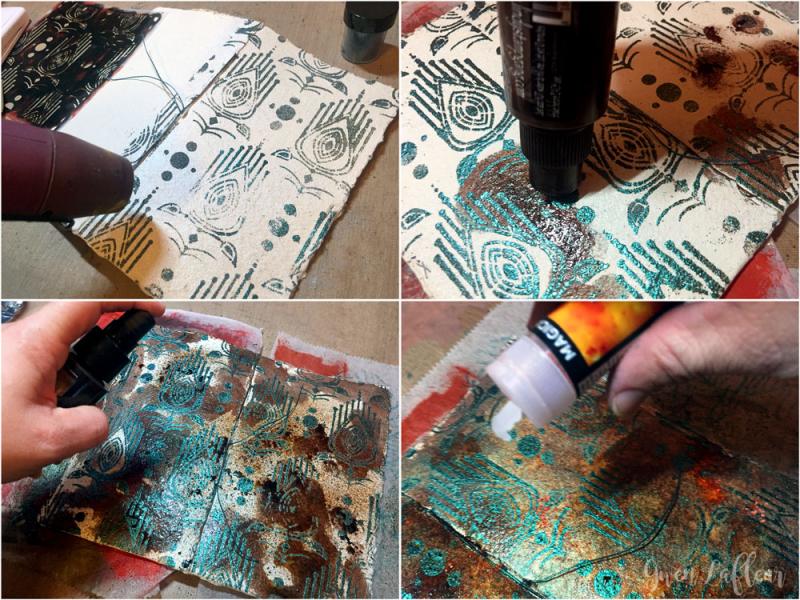 Mini-Art-Journal-Covers---EP-Resist-Step-1-4---Gwen-Lafleur