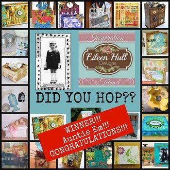 StencilGirl - Eileen Hull Hop Winner