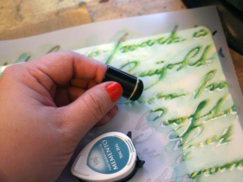 StencilGirl-Leslie Riley TAP Hop Step 3 - Gwen Lafleur