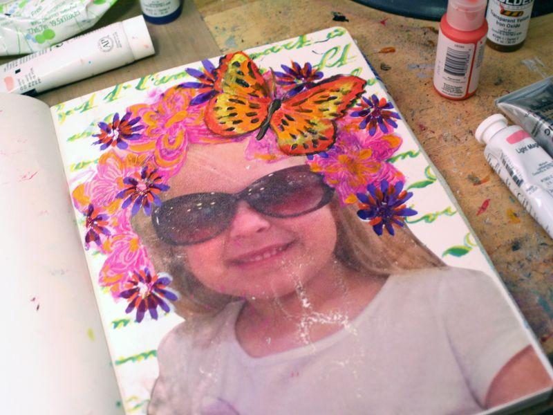 StencilGirl-Leslie Riley TAP Hop Step 5 - Gwen Lafleur