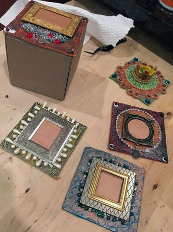 StencilGirl and Craft Attitude - ATB Step 5 by Gwen Lafleur