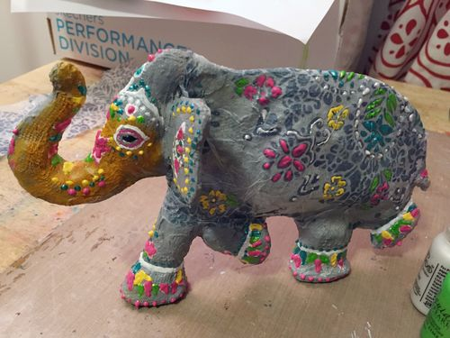 Stencil-Sculpture Elephant Final - Gwen Lafleur