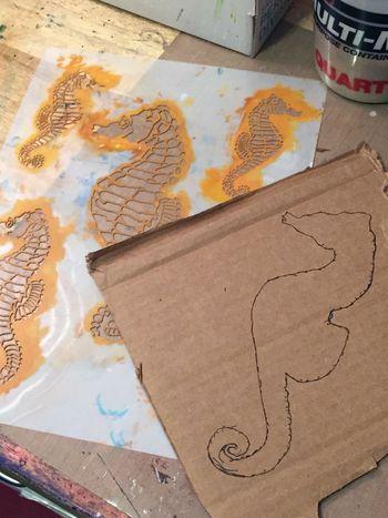 Seahorse Sculpture 1 by Gwen Lafleur