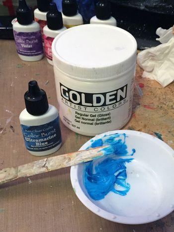 Color Burst Technique - Tinted Gel - Gwen Lafleur