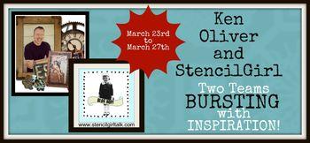 StencilGirl-Ken Oliver Blog Hop Banner