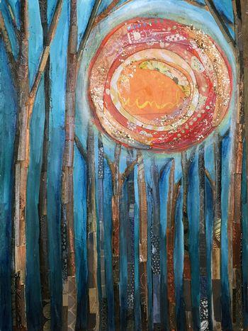 Paint and Paper Collage Final - Gwen Lafleur