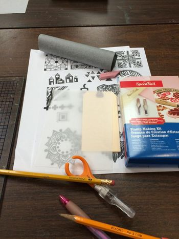 Stamp Carving Class Kit - Papercraft Clubhouse