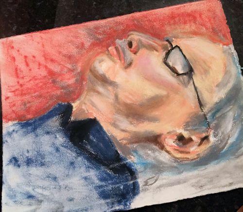 Portrait Drawing 7 - Gwen Lafleur