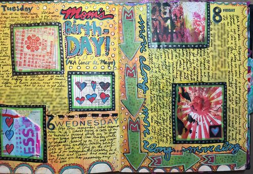 Junque Journal Spread 9 - Gwen Lafleur